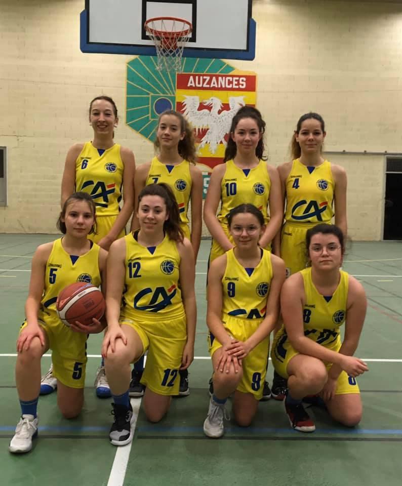 L'équipe U18F