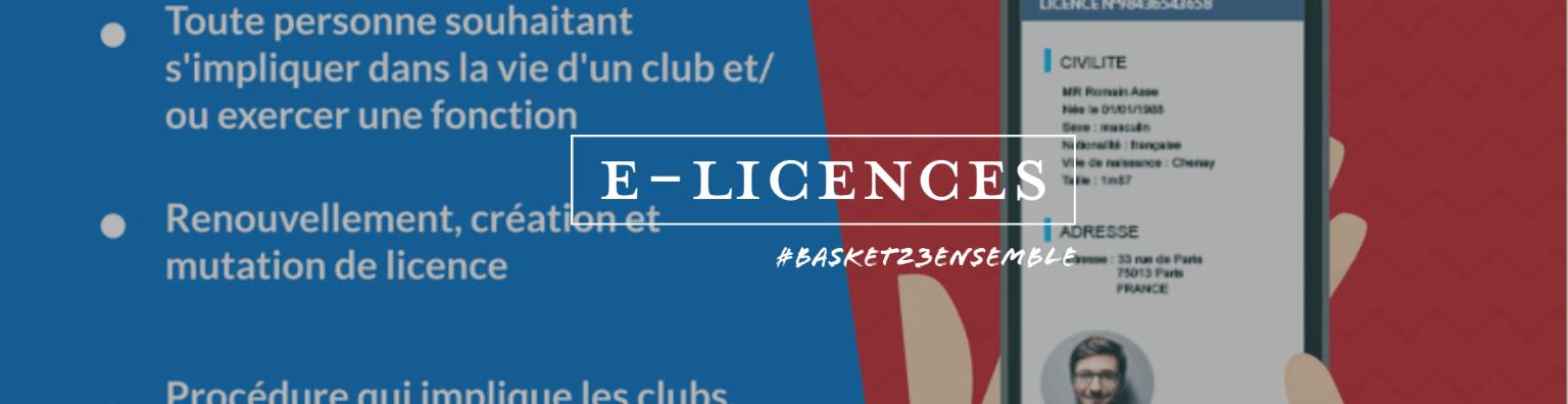 E-licences