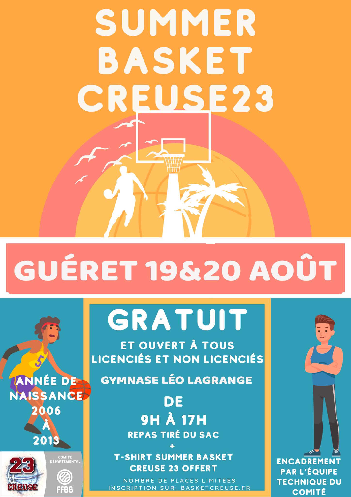 Summer Camps Basket 23